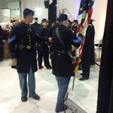 Illinois Volunteers Presents The Colors